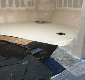 U shape Floor Repair